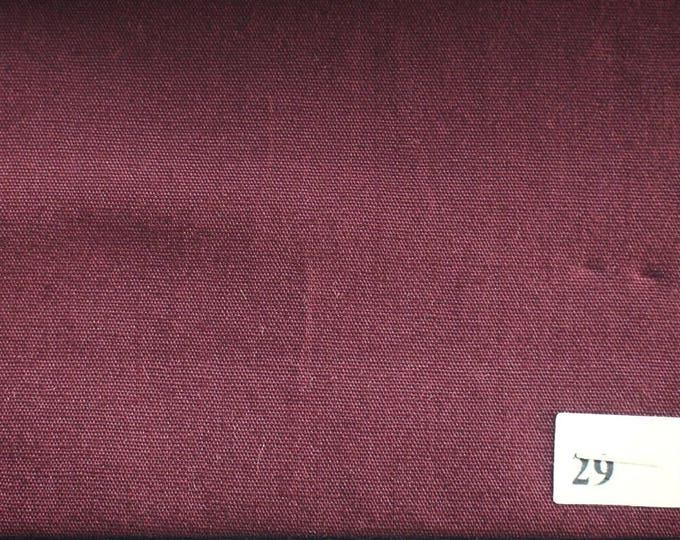 High quality cotton poplin, bordeaux nr29