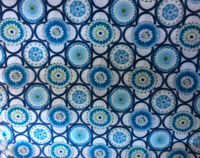 Tana lawn fabric from Liberty of London, Maddock.