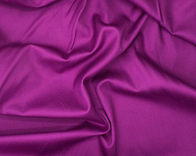 High quality cotton sateen, light purple nr19