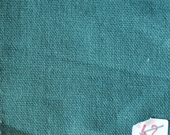 High quality soft cotton canvas dyed in Japan. Soft green nr42