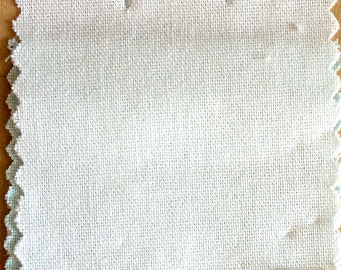 High quality soft cotton canvas dyed in Japan, white nr1