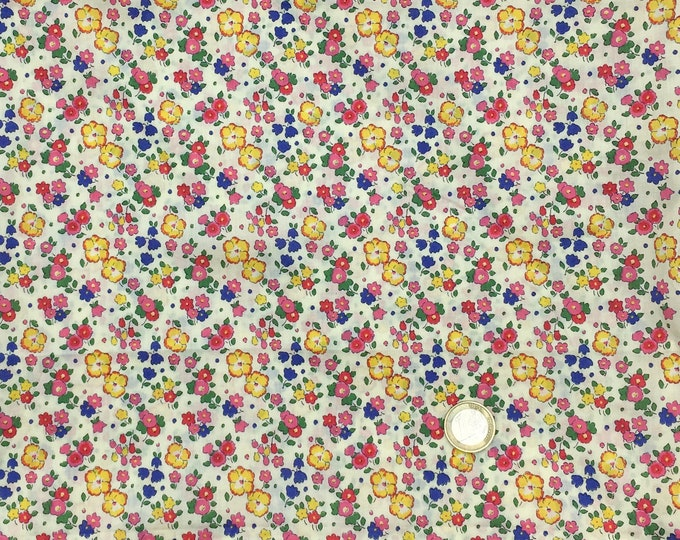 Tana lawn fabric from Liberty of London, Ella and Libby