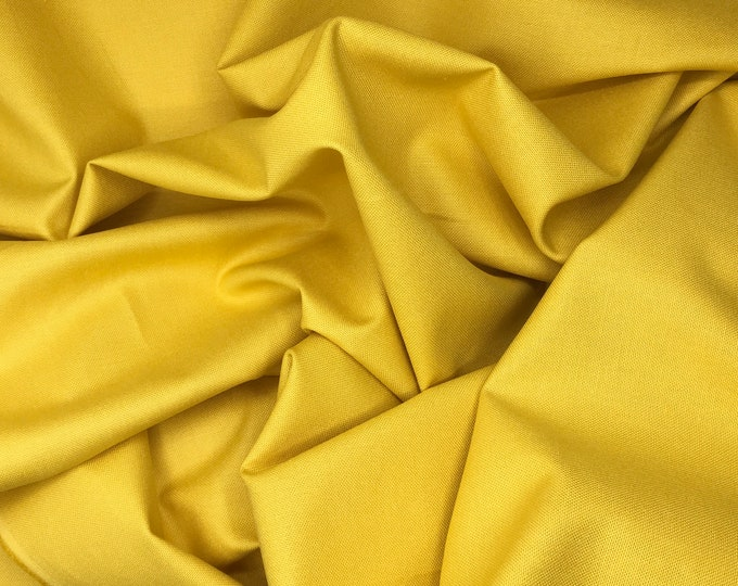 High quality soft cotton canvas, gold