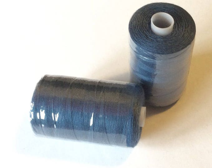 Sewing thread, 1000yds or 915m, storm blue