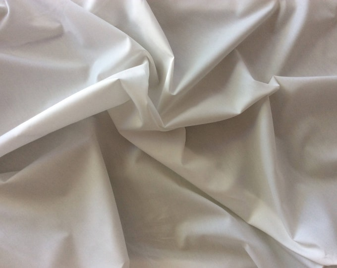 High quality cotton poplin, off white no14