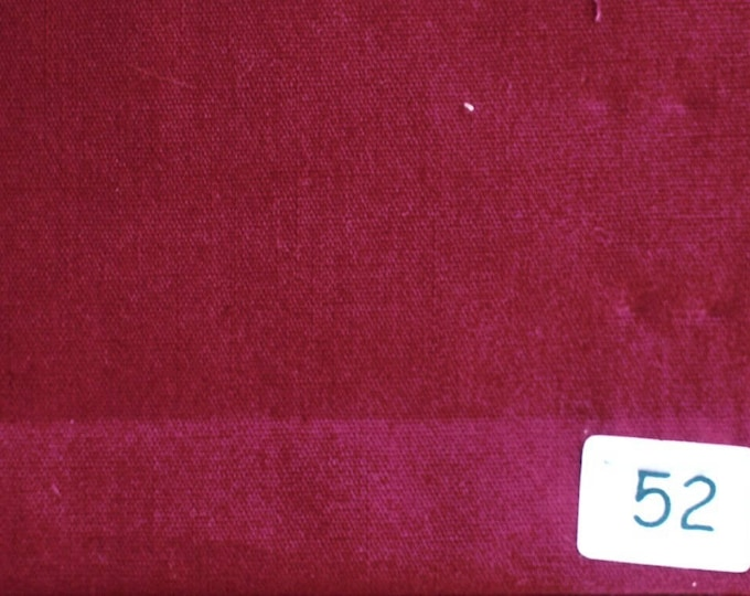 High quality cotton poplin dyed in Japan, dark red no52