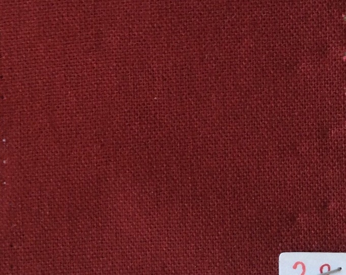High quality soft cotton canvas dyed in Japan, Bordeaux nr28
