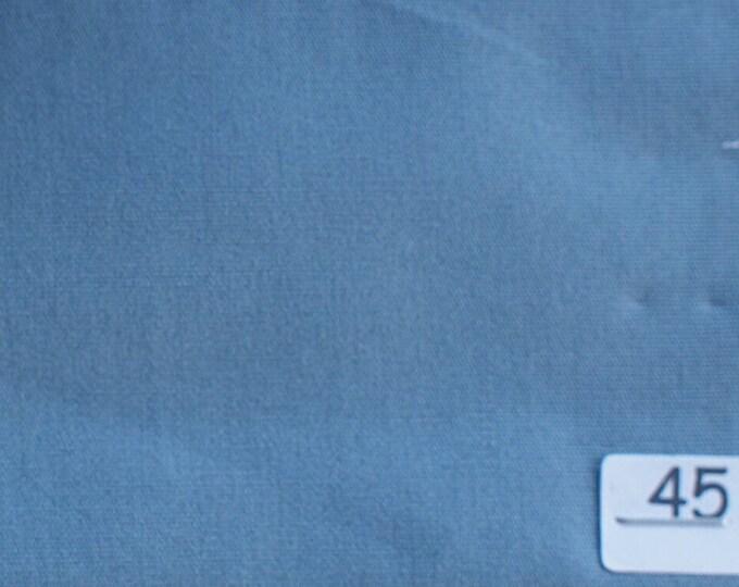High quality cotton poplin, pigeon blue no45
