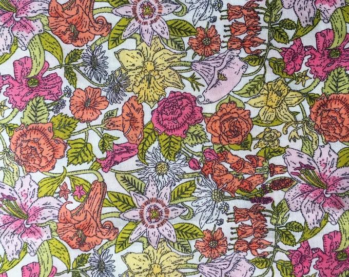 Tana lawn fabric from Liberty of London, Phyllis