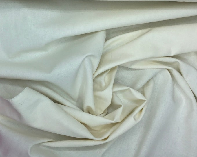 Light cotton canvas, oekotex certified, ivory or cream no5
