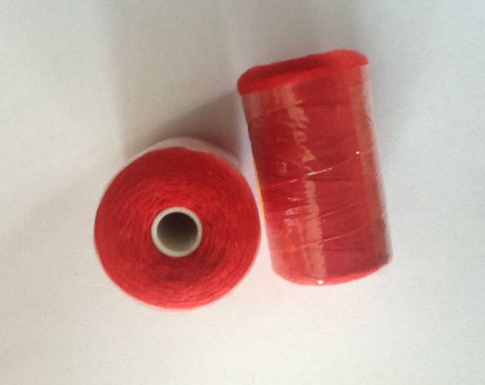 Sewing thread, 1000yds or 915m, red