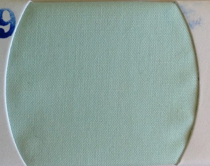 Plain cotton lawn fabric, pastel green no29