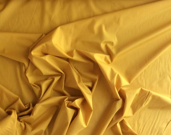 High quality cotton poplin, mustard no33