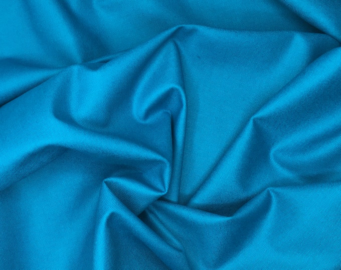 High quality soft cotton canvas, teal