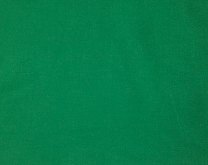 High quality cotton poplin dyed in Japan. Green nr27