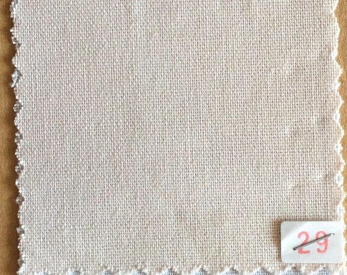 High quality soft cotton canvas dyed in Japan, nude nr29