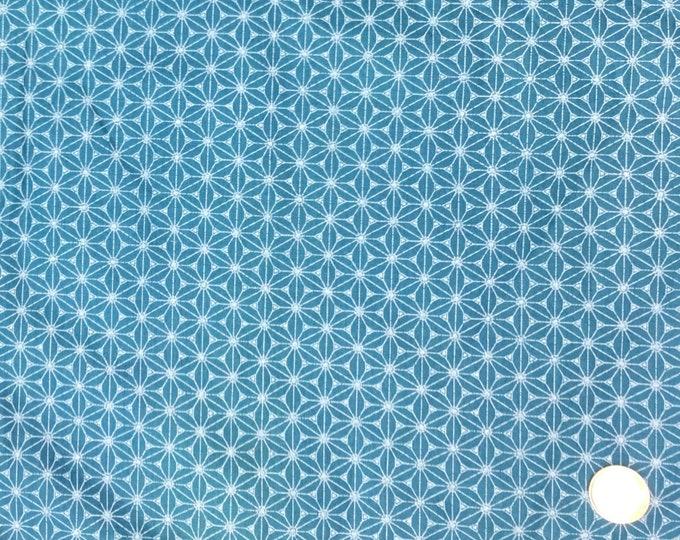 High quality cotton poplin. Sashiko print