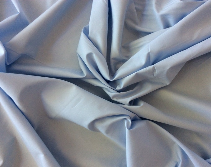 High quality cotton poplin dyed in Japan. Pigeon blue no17