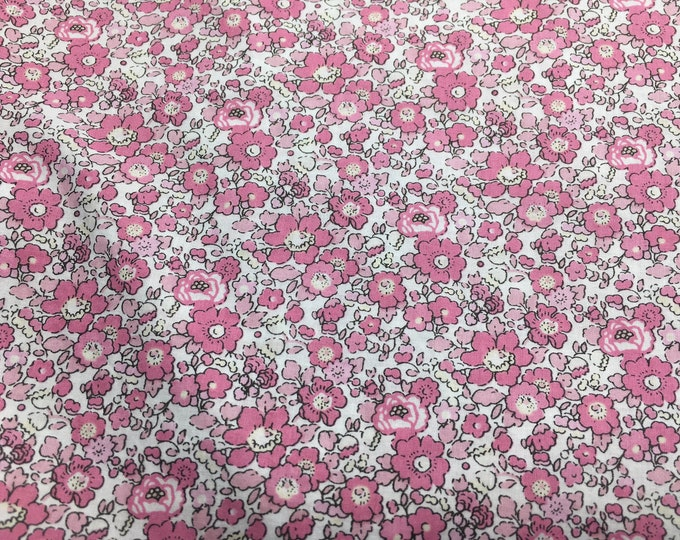 Tana lawn fabric from Liberty of London, exclusive Betsy Ann Tagada