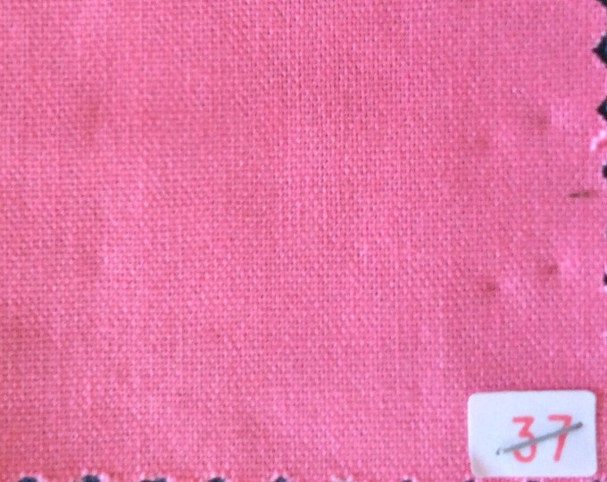 High quality soft cotton canvas dyed in Japan. pink nr37