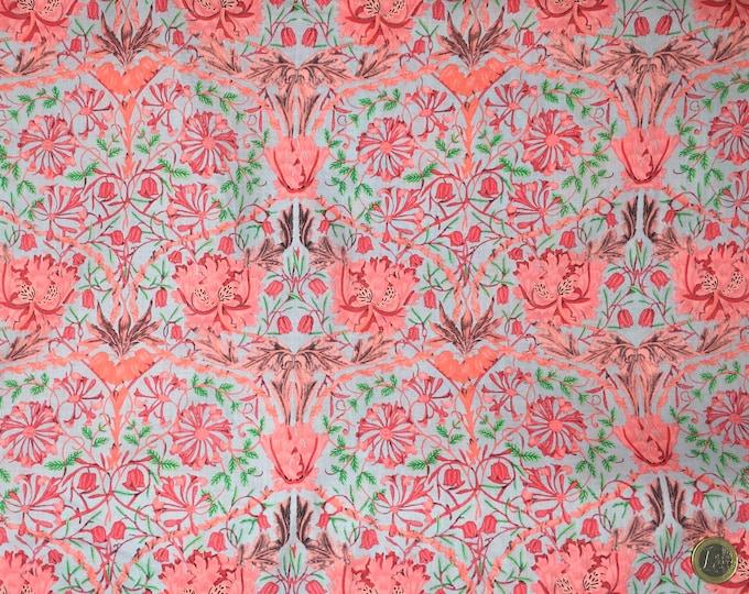 London lawn cotton fabric, priced per 25cm, Tivoli