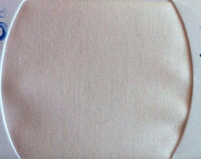 Plain cotton lawn fabric, very pale peach no5