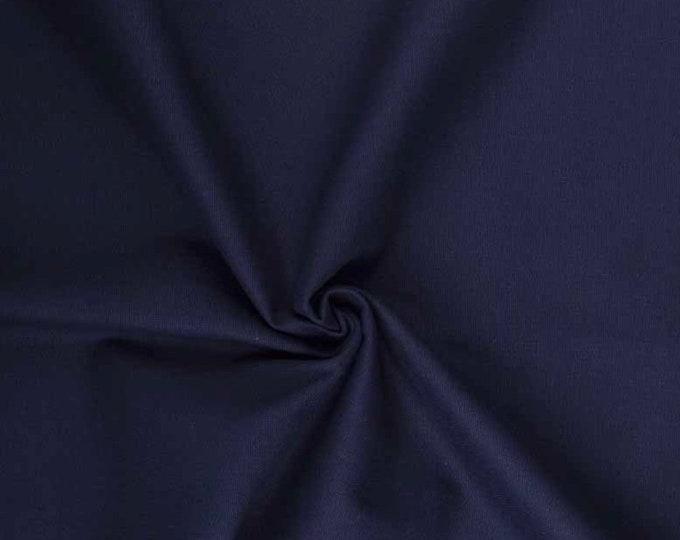 Light cotton canvas, oekotex certified, navy no32