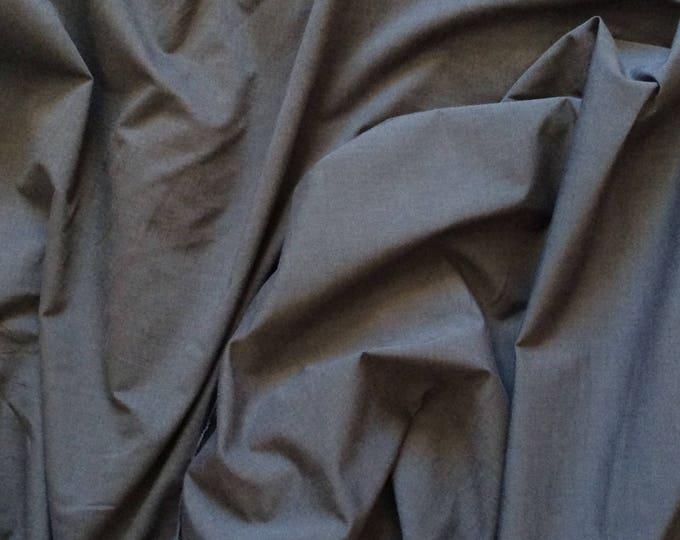 Oxford cotton fabric, blue/dark grey