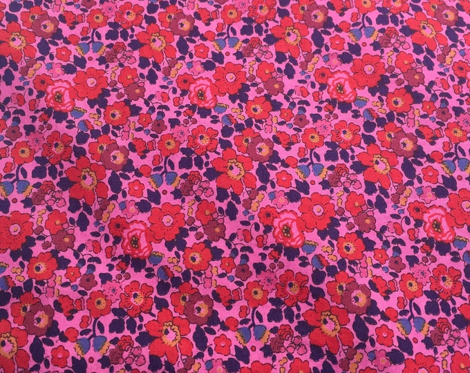 Tana lawn fabric from Liberty of London, exclusive Betsy Ann Berries