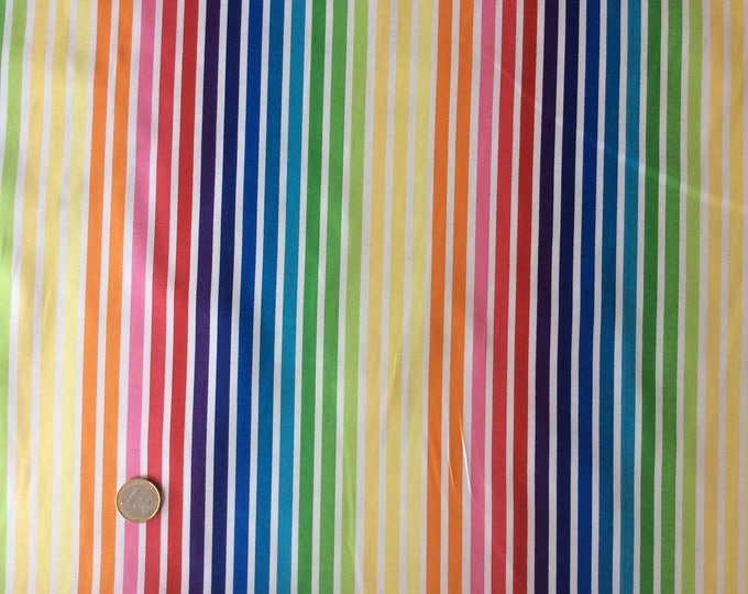 High quality cotton poplin, stripes