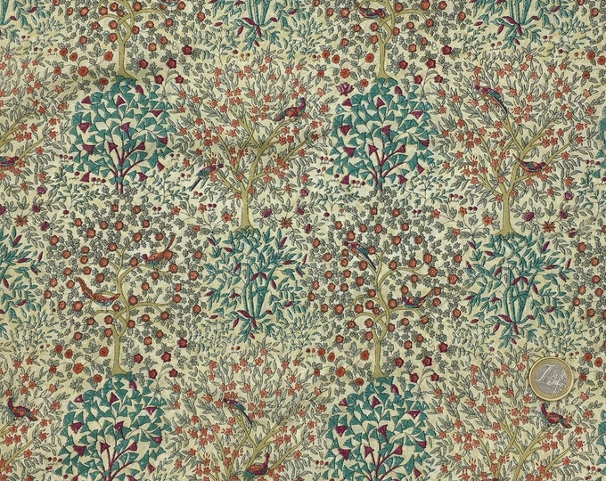 Tana lawn fabric from Liberty if London, Jess and Jean.