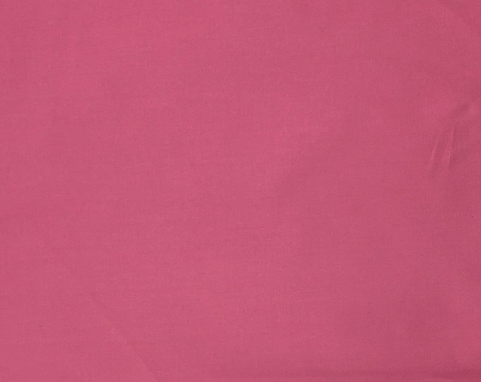 High quality cotton poplin dyed in Japan. Pink nr9
