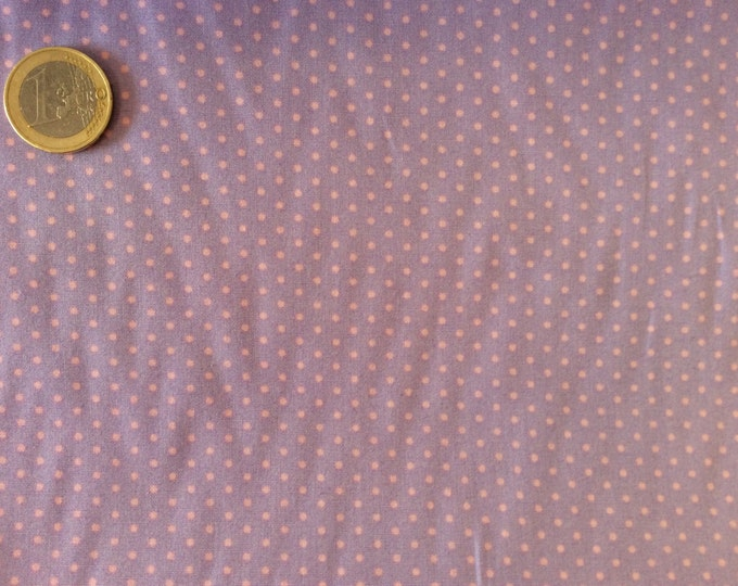 High quality cotton poplin dyed in Japan with 2mm polka dot nr30