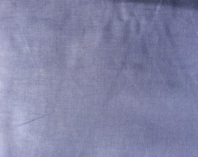 Oxford cotton poplin, lavender and white