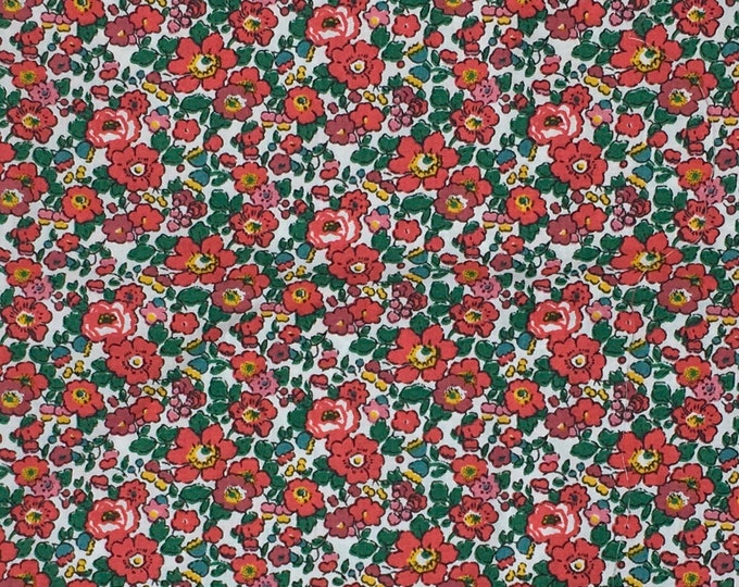 poplin Cotton fabric from Liberty of London, Betsy Ann