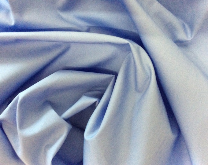 High quality cotton poplin dyed in Japan. Light blue no37