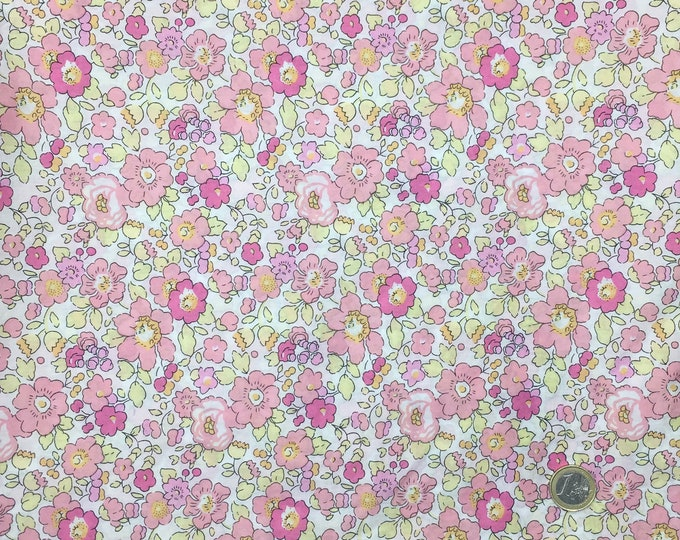 Tana lawn fabric from Liberty of London, exclusive Betsy Lollypop