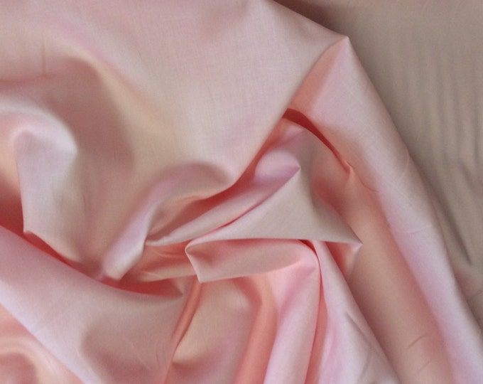 High quality cotton lawn dyed in Japan. Coral pink no35