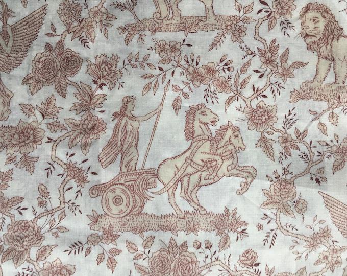 Tana lawn fabric from Liberty of London, Boadicea