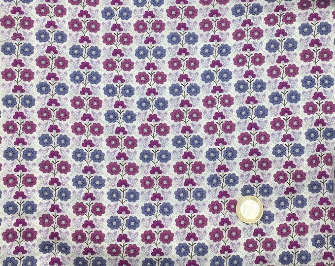 Tana lawn fabric from Liberty of London. Cordelia.