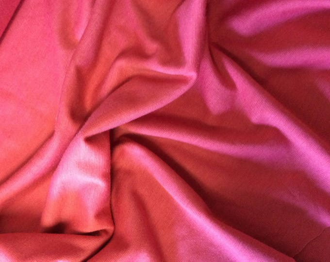 Thick jersey fabric, pink