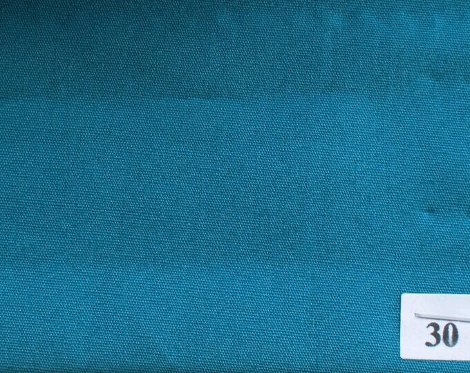 High quality cotton poplin dyed in Japan, turquoise nr30