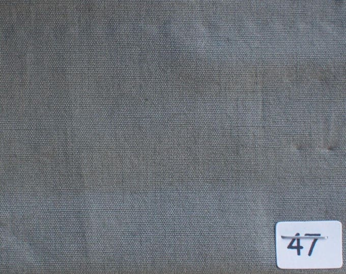 High quality cotton poplin grey-green no47