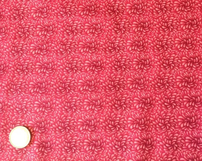 High quality cotton poplin, raspberry blender print