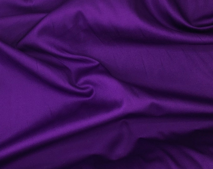 High quality cotton satin dyed in Japan, light purple nr20