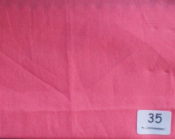 High quality cotton poplin, coral pink no35