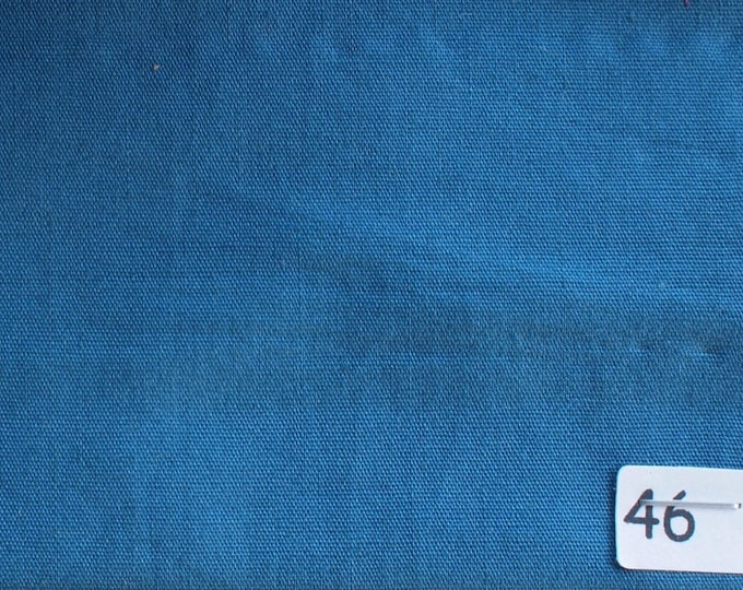 High quality cotton poplin dyed in Japan, greyish turquoise nr46