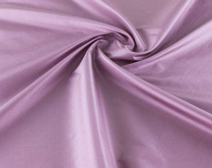 High quality taffetas fabric, lilac/white