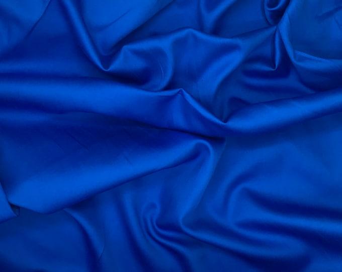 High quality cotton satin, dark turquoise nr33