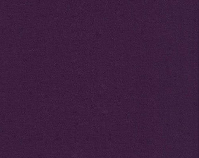 Heavy jersey fabric, eggplant color